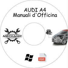 AUDI A4 - Guida Manuali d'Officina - Riparazione e Manutenzione!