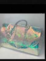 5f14df5978 LOUIS VUITTON VIRGIL ABLOH KEEPALL 50 BORSA BANDOULIERE PRISM IRID SOLD OUT.