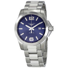 Longines Conquest Blue Dial Automatic Mens Watch L37784966