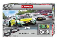Carrera 25234 duelo Mercedes AMG del DTM de velocidad C63 vs AUDI RS 5 DTM 1/24 Slot Car Set