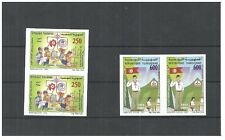 2003- Tunisia- Imperforated pair- tHE 70th Anniversary of the Tunisian Scouts