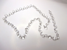 15 mm Verre acrylique Composite Lustre Crystal Garland Octagon Cut Faceted Bead