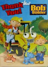 BOB THE BUILDER THANK YOU NOTES (8) ~ Birthday Party Supplies Stationery Cards
