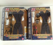 2x equipment sets HM ARMED FORCES ROYAL NAVY Fire & Emergency Party Deck Gunner