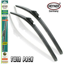 "Dacia Logan 2012-15 HEYNER HYBRID windscreen aeroflat WIPERBLADES 22""20""SET OF 2"