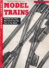 model trains Model Railroading Made Easy magazine February 1955 Fair Condition