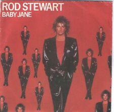 "ROD STEWART 7""PS Spain 1983 Baby Jane"