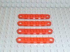 LEGO ® Technic 4x PIASTRA PLATE 4262 ROSSO 1x6 8032 8854 8812 8808 8842 t06 giunto