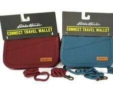 Eddie Bauer Womens Connect Travel Wallet Crossbody Zip Close Light Weight NWT