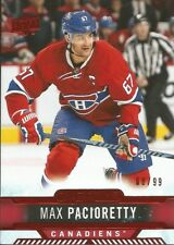 Max Pacioretty #5 - 2017-18 Overtime - Base Red Foil - 88/99