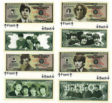 (Lot of 4) Beatles Paul McCartney John Lennon Ringo Starr G. Harrison Notes