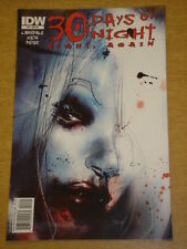 THIRTY 30 DAYS OF NIGHT NIGHT AGAIN #4 RI COVER 2011 IDW DAVIDE FURNO