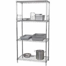 Wire Shelving Kit 4 tier Cold Room Shelving w1830x610mm