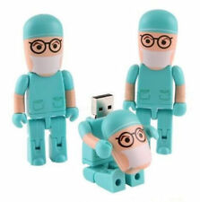 New Year Gifts Funny Folding Doctor USB 2.0 Memory Stick Flash pen Drive 16GB