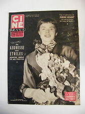 Ciné Revue France N°25 Juin 1954 Ingrid Bergman Simone Renant