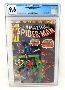 The AMAZING SPIDER-MAN #175 Punisher CGC 9.6 NM+