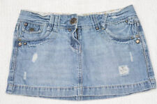 New Look Denim Short/Mini Regular Size Skirts for Women