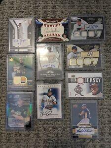 18 Card Auto and GU Baseball Lot- Kurt Suzuki Shin-Soo Choo Gallardo Britton