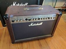 Marshall AS50D Acoustic Soloist  50W 2 x 8 Guitar Amplifier with Effects Brown