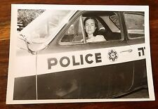 REAL PHOTO 1950s ISRAEL WOMEN IN POLICE CAR JUDAISM JEWS