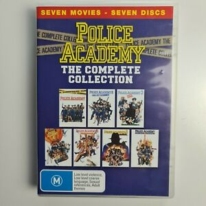 Police Academy The Complete Collection 7 movies 7 Discs - Region 4 -TRACKED POST