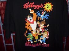 Kelloggs The Breakfast Club Snap Crackle Pop Toucan Sam Men's Cotton T-Shirt