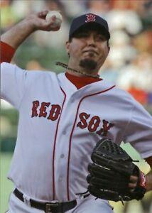 Josh Beckett--Boston Red Sox--Glossy 5x7 Color Photo