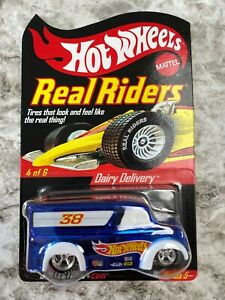 Hot Wheels Redline RLC Series 5 Dairy Delivery Adult Collected Diecast Toy Car