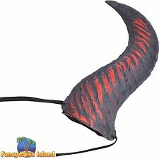 HALLOWEEN HORROR SCARY RED DEVIL HORNS Adults Mens Ladies Fancy Dress Accessory