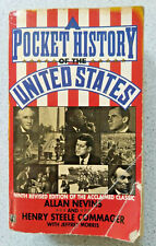 1992 A POCKET HISTORY OF THE UNITED STATES by Alan Nevins & H. Commager PB book