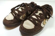 Men's Converse All Star Skateboard Sneakers Brown Suede Leather Shoes Size 7