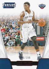 Jrue Holiday 2016-17 Threads Basketball Sammelkarte,Red, 6/199