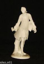 Nymphenburg Porzellan Figur Figuren Kavalier mit Rose