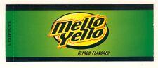 "Mello Yello Vending Machine Insert, Oval Logo 1 3/8"" x 3 3/8"""
