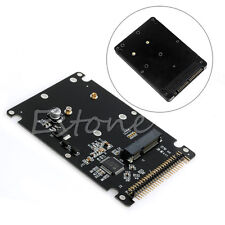 "mSATA to 2.5"" 44PIN IDE HDD SSD mSATA to PATA Converter Adapter Card with Case"