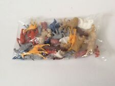 Large Lot Of Plastic Animals * Brand New * Cake Topper Party Favor * Miniature