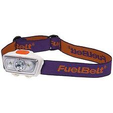 FuelBelt Helium LED Headlamp 100 Lumens. Bright constant or flashing modes.