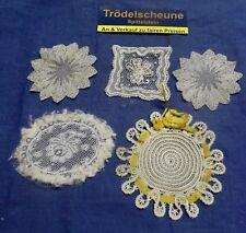 Convolute 1 Antique Doily for The Doll's House Handmade Um 1900