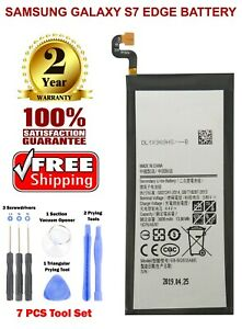 New Replacement Battery Fits For Samsung Galaxy S7 EDGE  EB-BG935ABE 3600mAh
