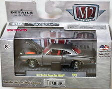 M2 Machines Titanium 1970 Dodge Super Bee HEMI Chase W