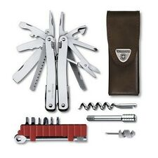 3.0239.L - VICTORINOX SWISSTOOL SPIRIT XC PLUS RATCHET WITH LEATHER POUCH