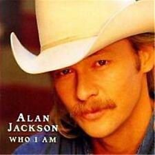 ALAN JACKSON WHO I AM CD NEW
