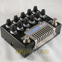 AMT ELECTRONICS TUBE GUITAR PREAMP SS-20 -- amazing heavy metal tube distortion!