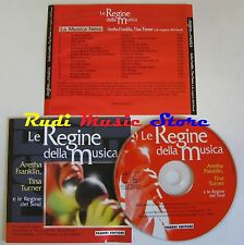 CD REGINE MUSICA 2001 ARETHA FRANKLIN ETTA JAMES DIANA ROSS TINA TURNER*NO(C10*)