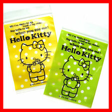 Hello Kitty Multipurpose transparent zip gift bag S 50pcs 100mm H x 70mm W