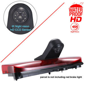 Car rear view reverse Camera for Ford Transit Connect 2014-2017 Brake light vans