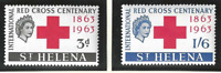 St. Helena Stamps Scott #174 To 175, Mint Never Hinged