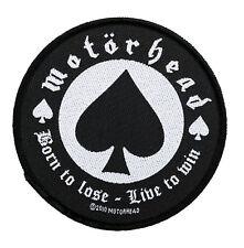 Motörhead  Aufnäher - Born To Lose (SP2483)Motörhead Patch -Gewebt & Lizenziert