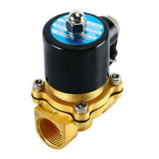 Homend Brass Electric Solenoid Valve Water Air 3/4