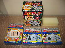 SBOM PACK BOMBERMAN HUDSON FULL SET SEGA SATURN CONSOLE JAPAN NEW IN BOX!